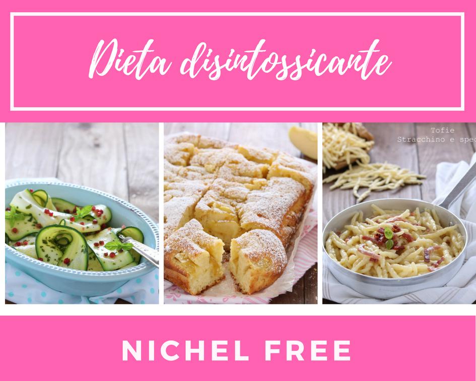 Dieta disintossicante Nichel