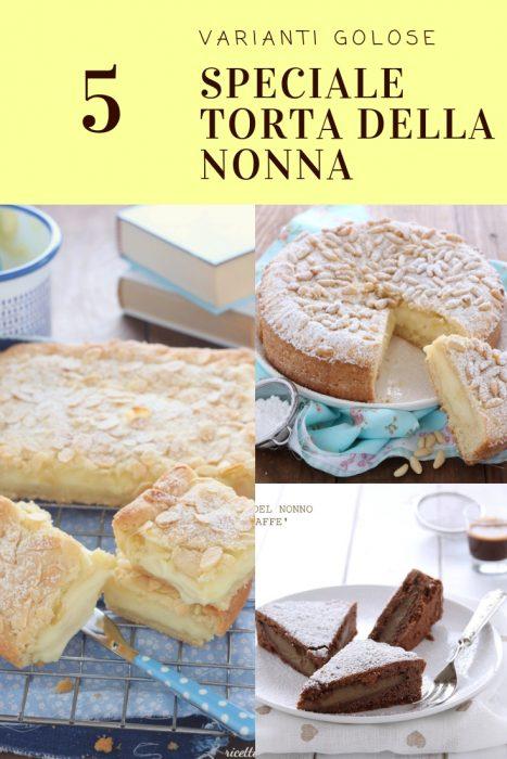 Torta Della Nonna Varianti Golose