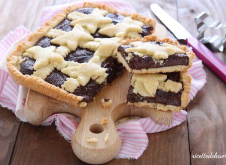 Crostata al cioccolato senza latte e burro