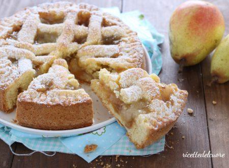 Crostata cuor di pera
