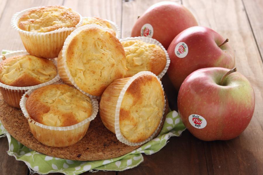 Muffin mele e limone