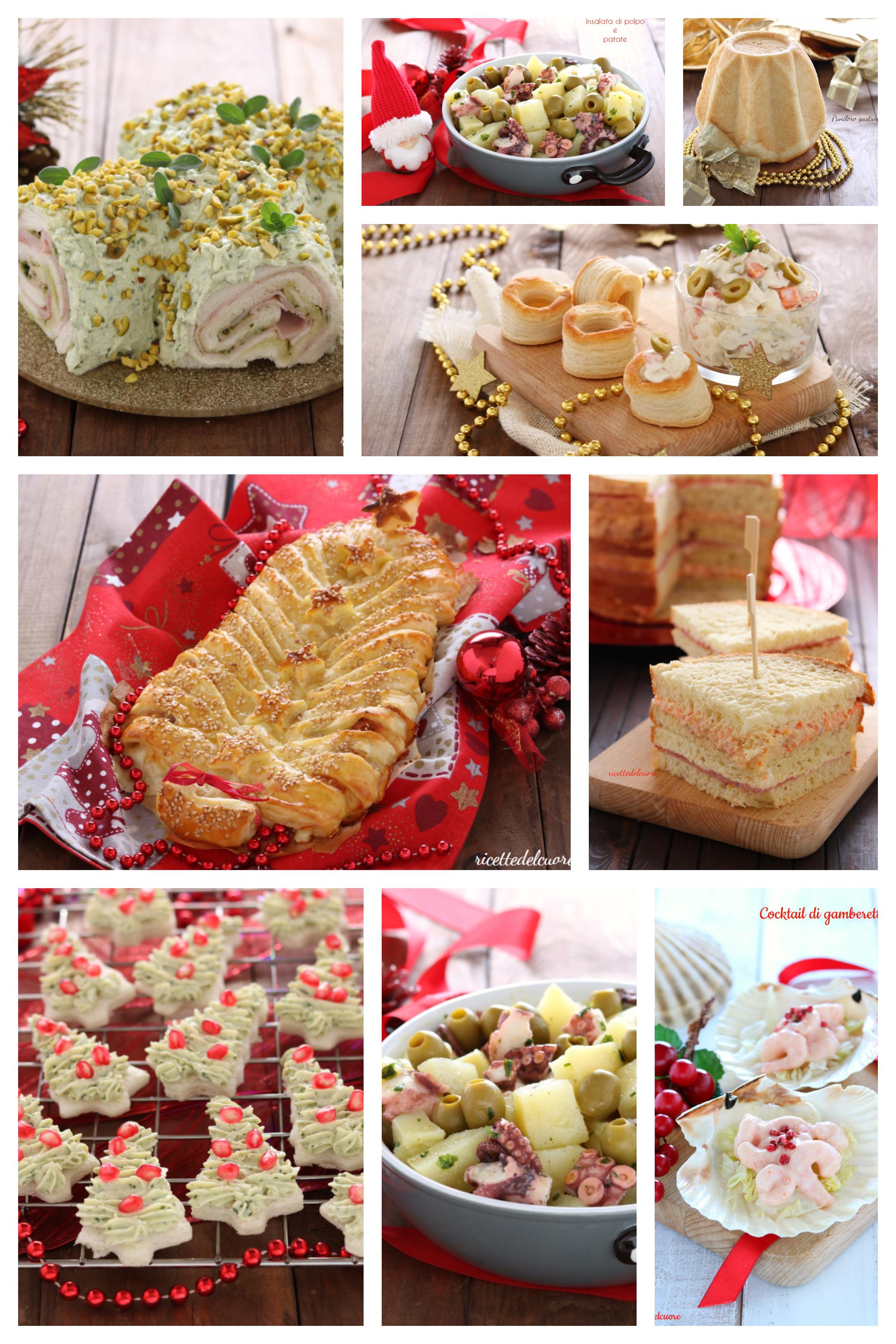 Ricette Sul Natale.Antipasti Di Natale Facili E Veloci Ricettedelcuoreblog