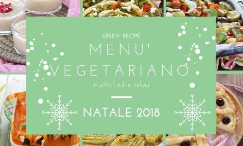Menù vegetariano Natale 2018