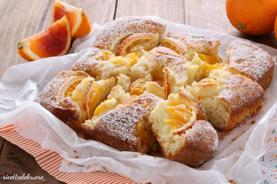 Torta arance e yogurt