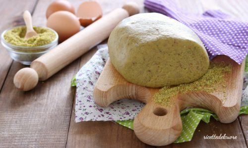 Frolla al pistacchio