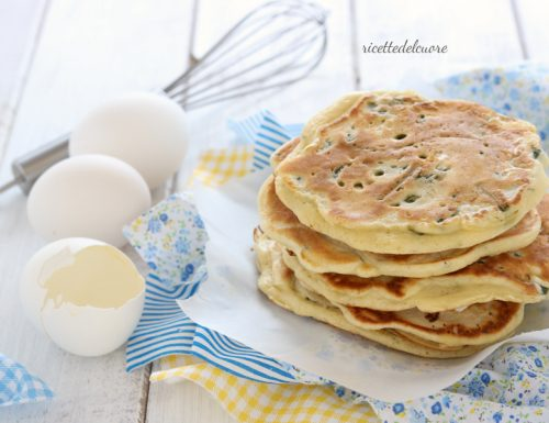 Pancake salati agli asparagi