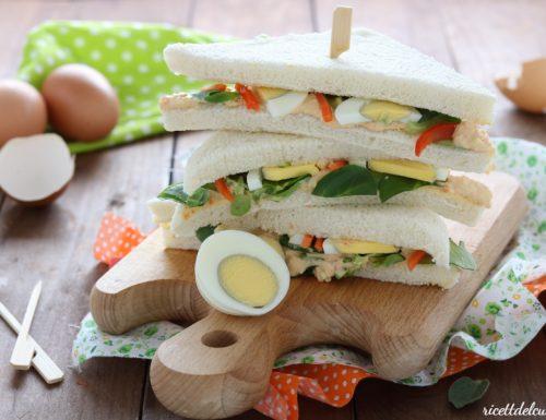 Sandwich all'uovo