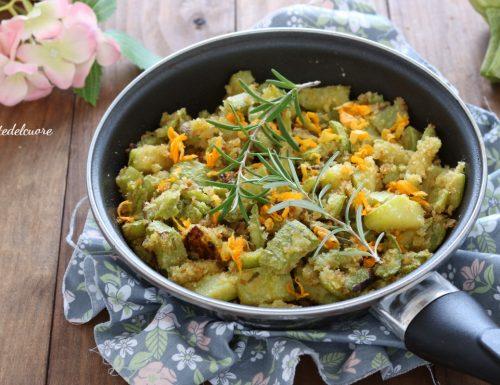 Zucchine al rosmarino