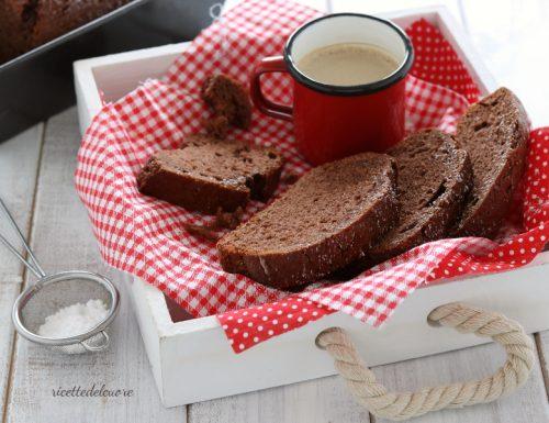 Plumcake cacao e yogurt
