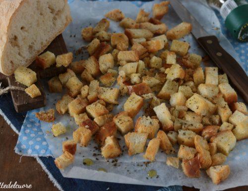 Come fare i crostini di pane