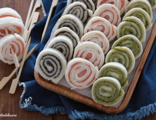 Rotolini salati gusti vari