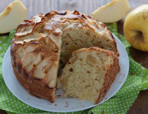 Torta di mele e vaniglia