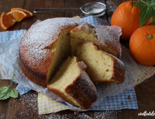 Torta ricotta e arance