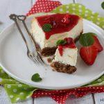 Cheesecake alle fragole cotta