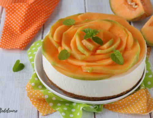 Cheesecake al melone RICETTA dolce freddo estivo