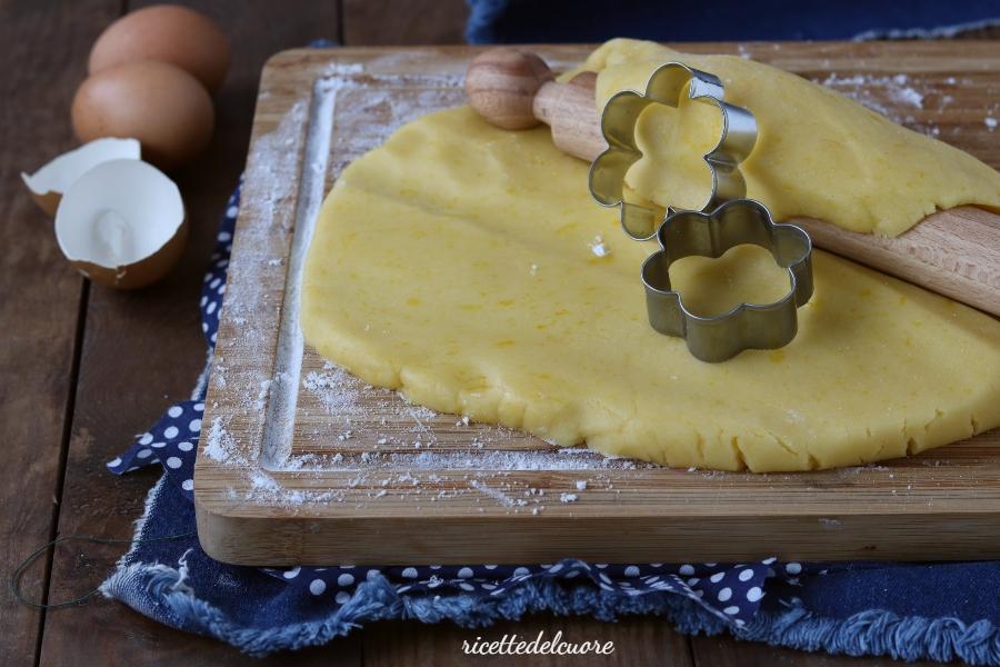 Pasta frolla senza glutine e burro