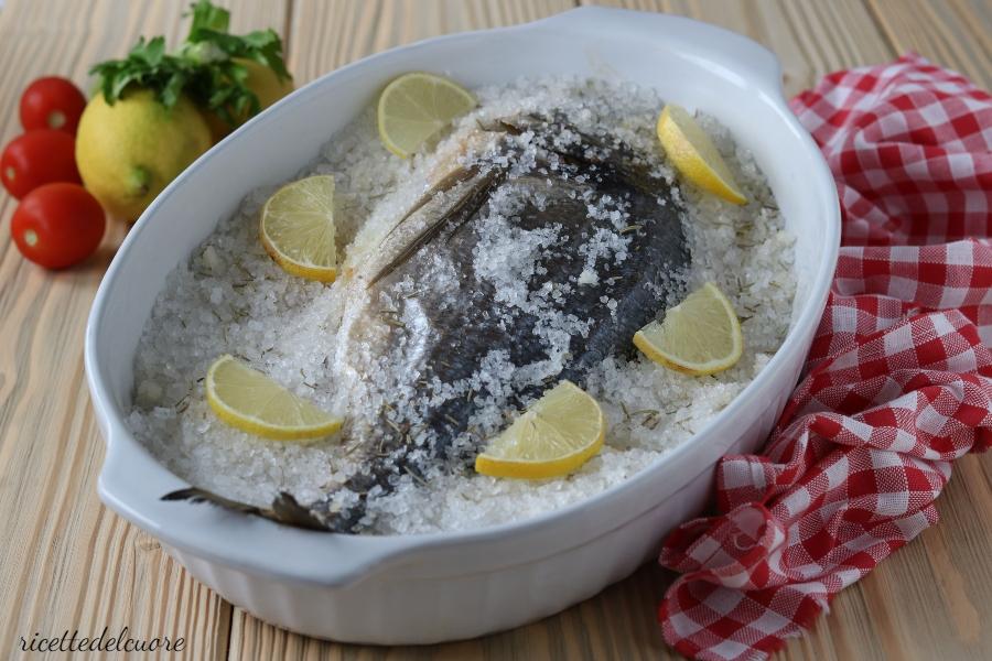 Orata in crosta di sale