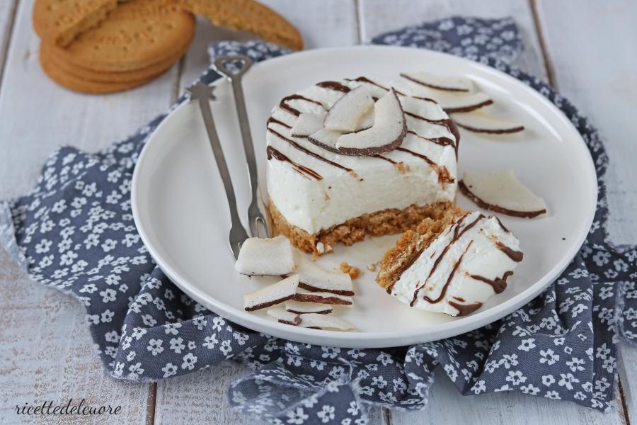 cheesecake fit con yogurt greco