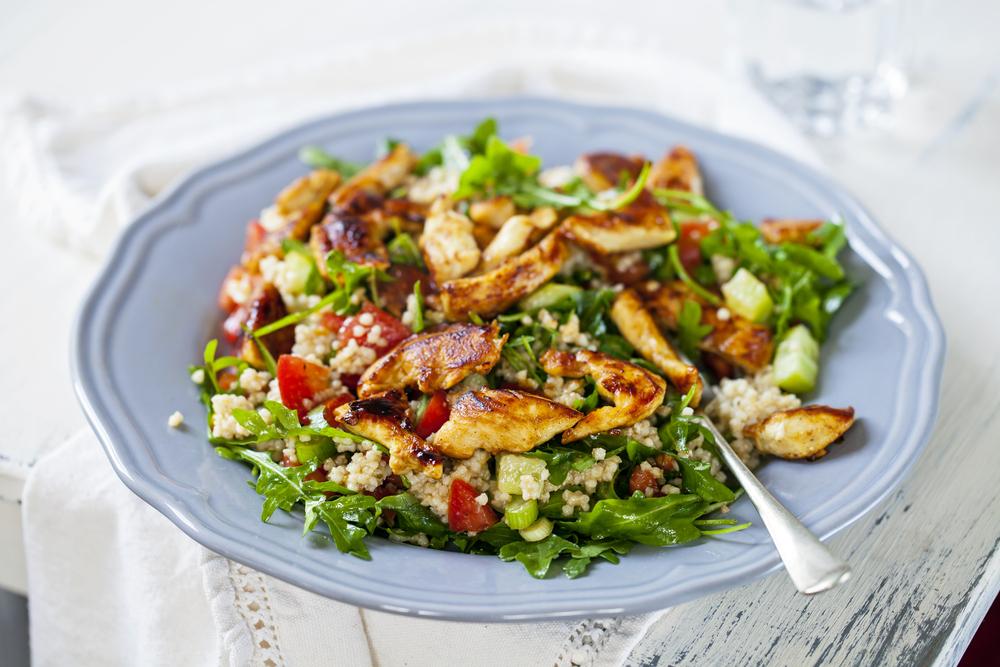 Ricette Con Quinoa Pollo E Verdure.Quinoa Con Verdure E Pollo Ricette Della Nonna
