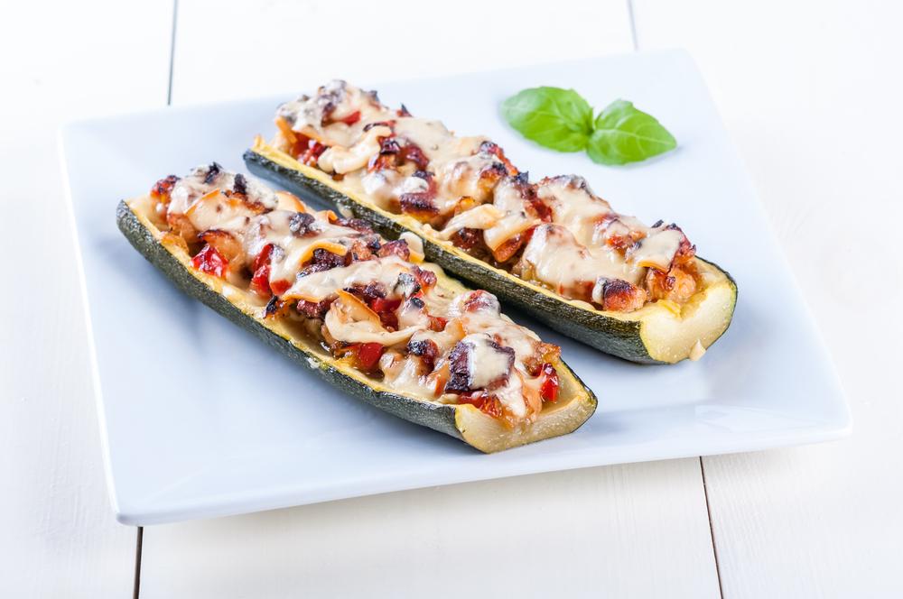 Zucchine ripiene al forno ricetta facile e saporita ricette della nonna - Cucinare le zucchine in modo dietetico ...