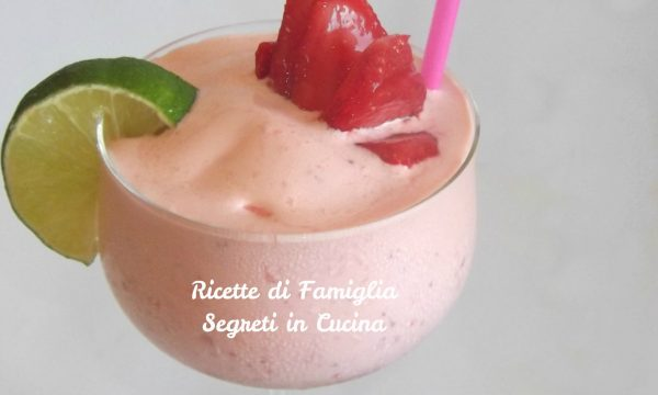 Sorbetto Daiquiri Fragola