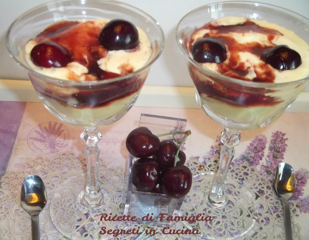 Dessert Ciliegie alla Machiavelli Ricette di Famiglia Segreti in Cucina
