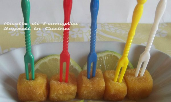 """Crema Fritta o Gnocchetti di Crema """"dalle Marche con Amore"""" Ricetta Finger Food"""