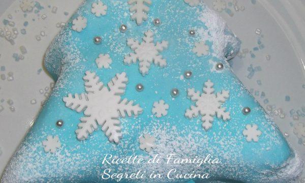 Albero di Natale Pasta di Zucchero