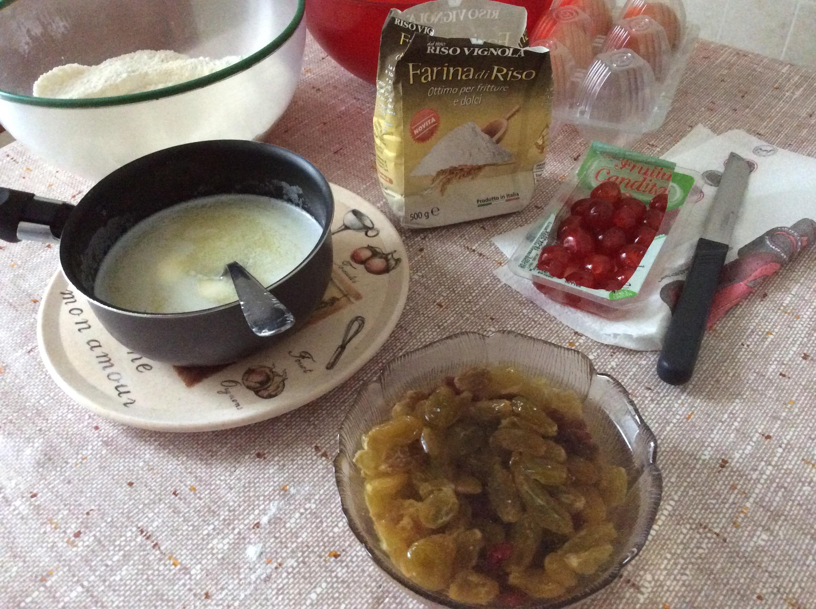 ingredienti torta frutta