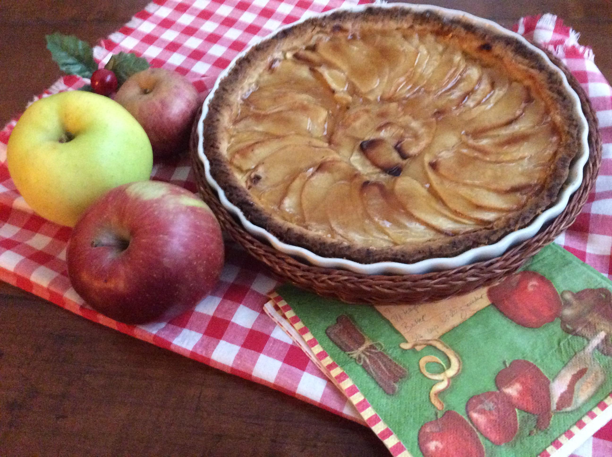 Crostata francese alle mele