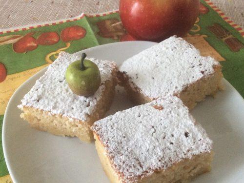 Torta di mele invisibili