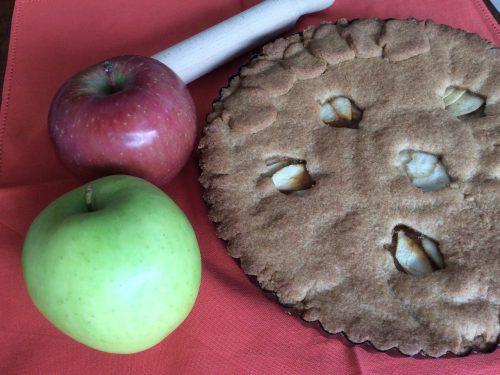 Crostata integrale di mele