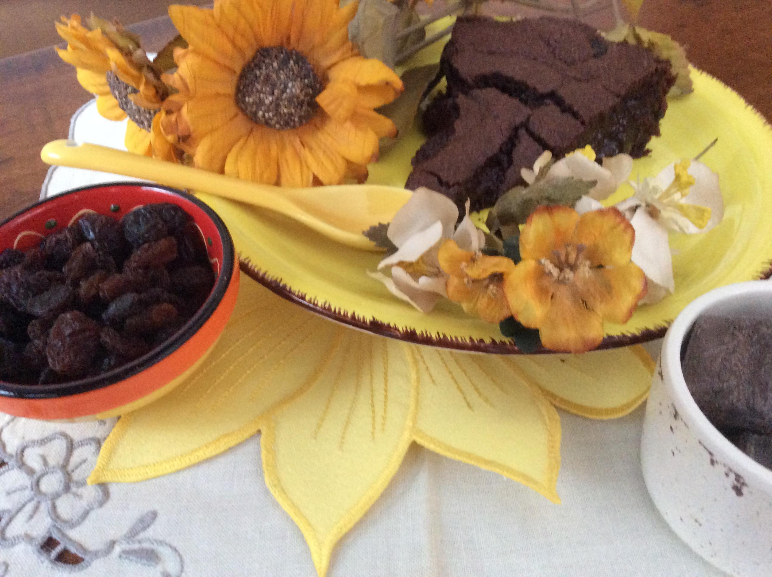cremosa al cioccolato all'interno