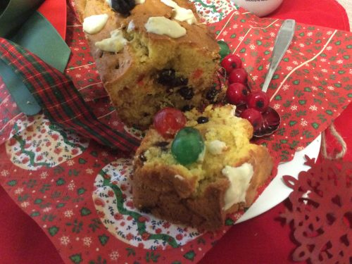 Pound cake di Natale