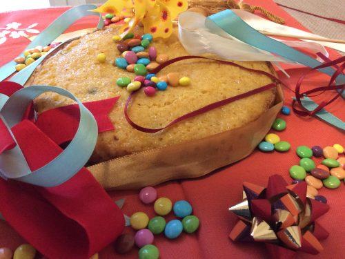 Torta di Carnevale all'arancia