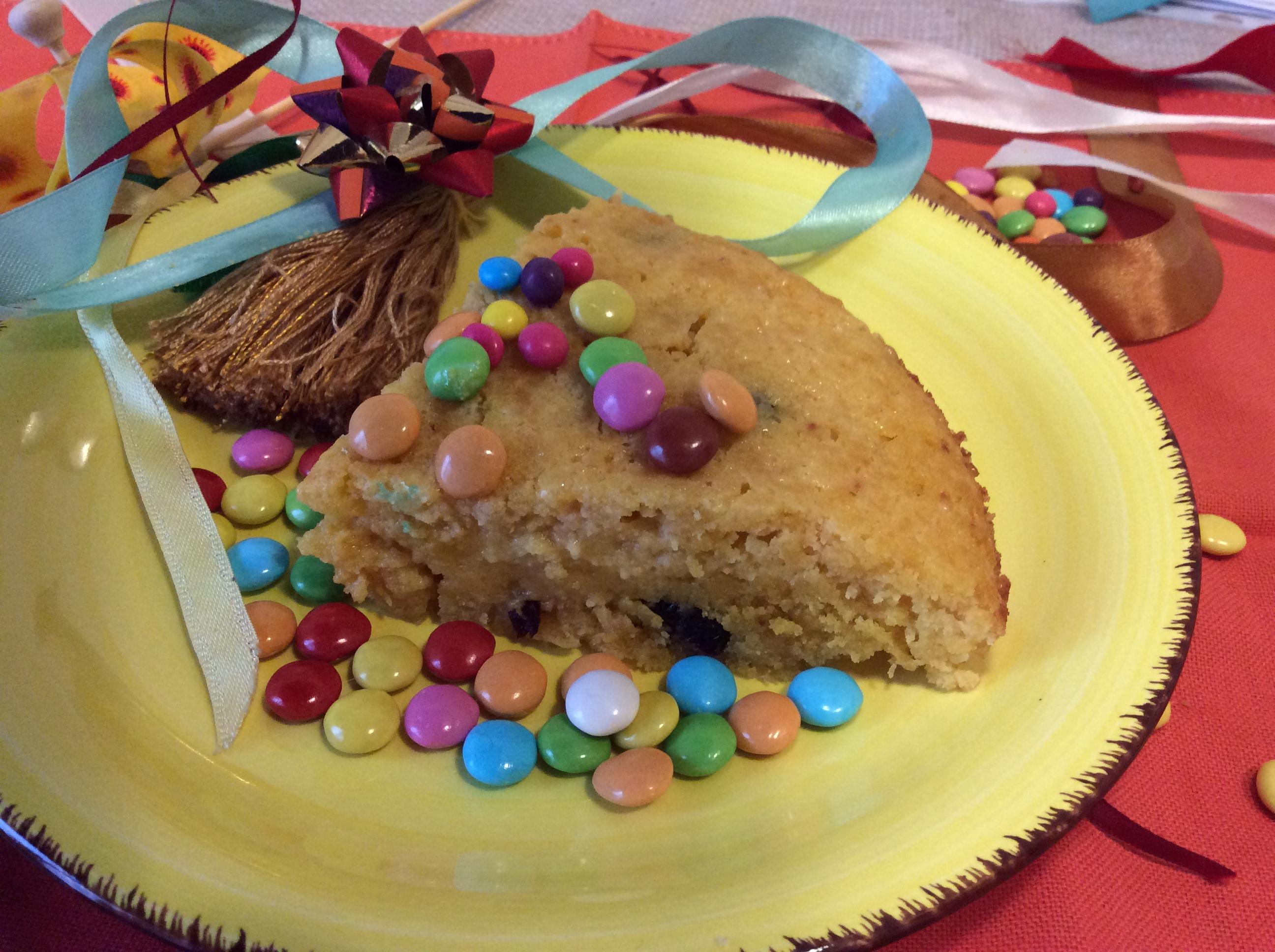 torta di carnevale fetta