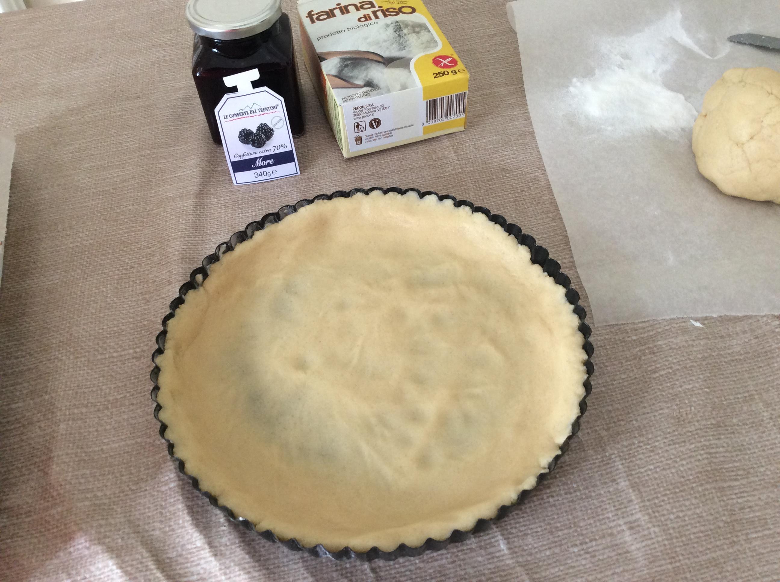 preparazione crostata