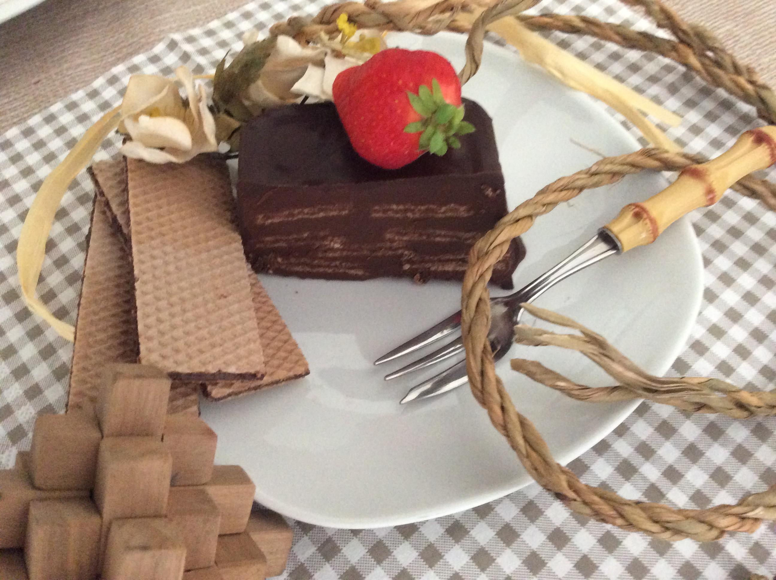 fetta ciocco wafer