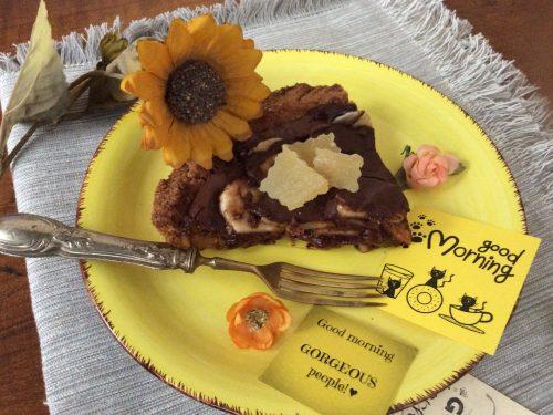 Crostata banana e cioccolato