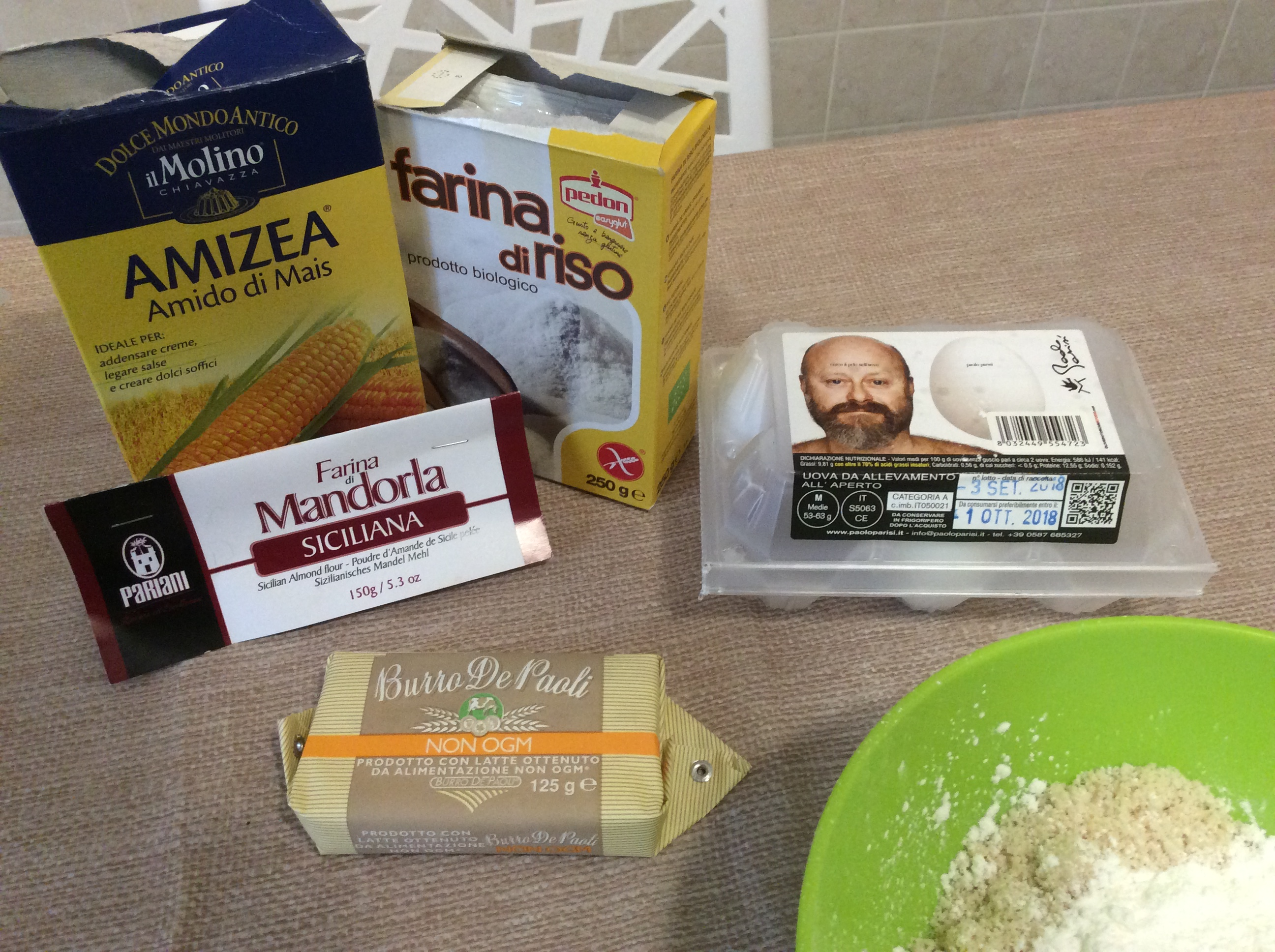 mix ingredienti