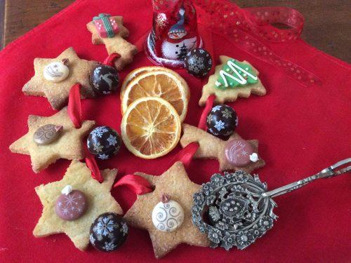 Biscotti di Natale con semola di grano duro