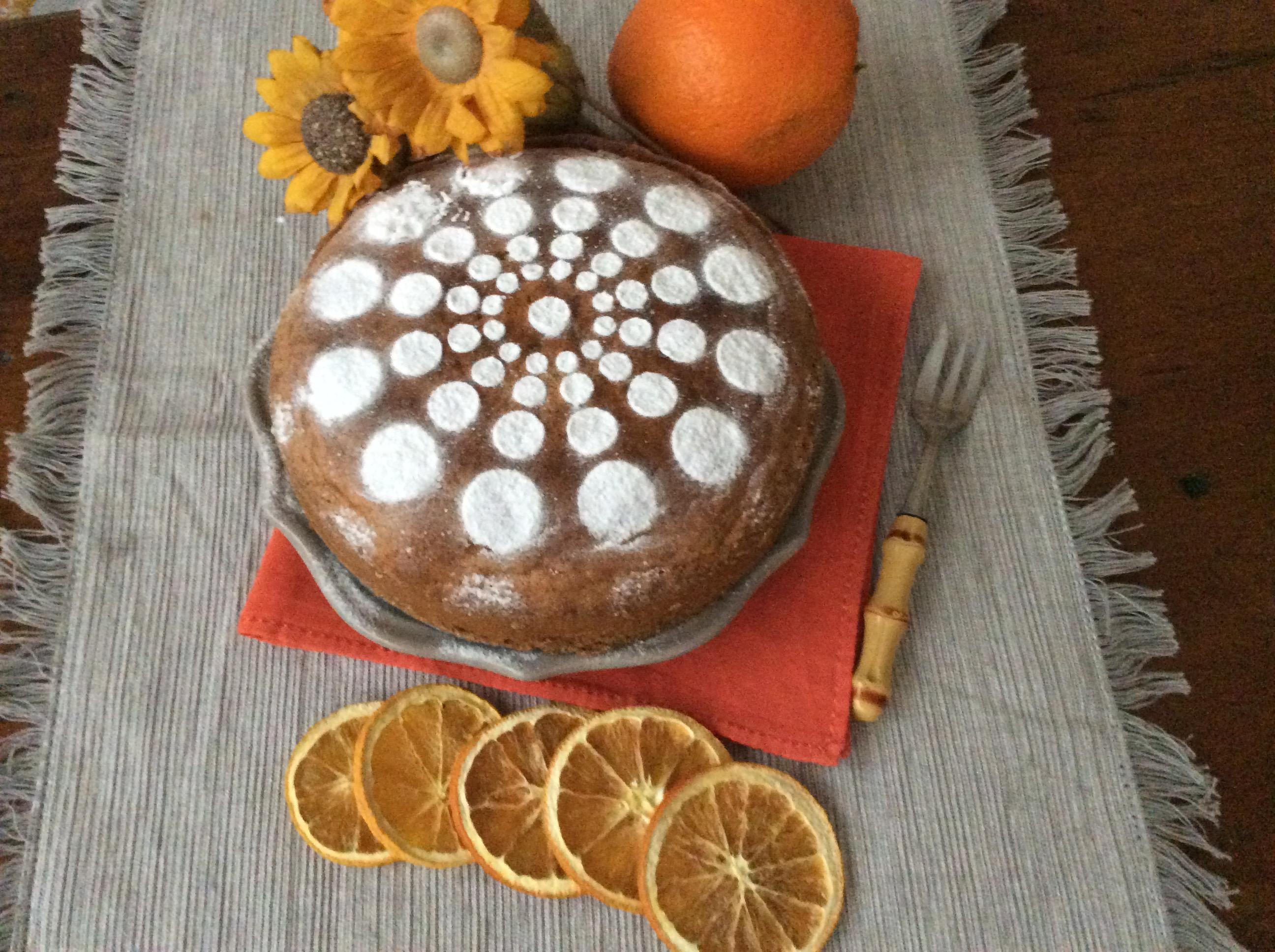 Torta arancia intera