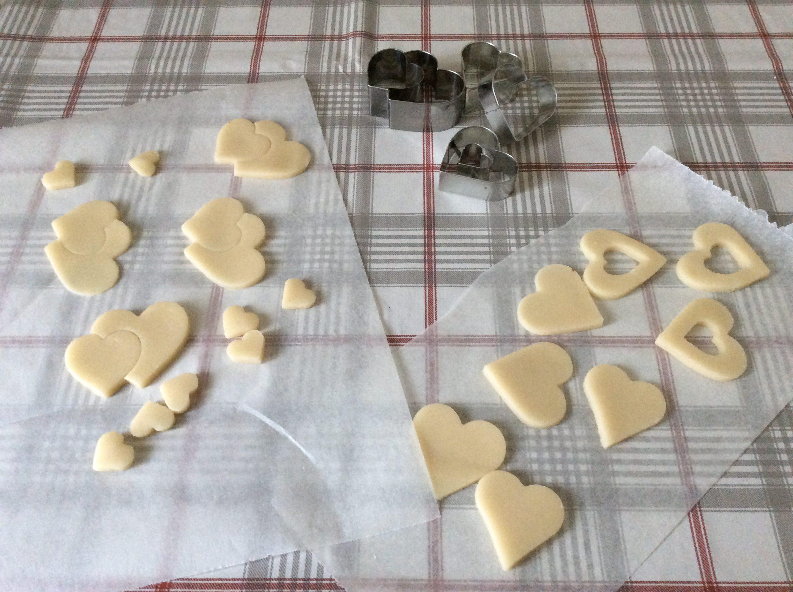 Cuoricini di mandorla san valentino