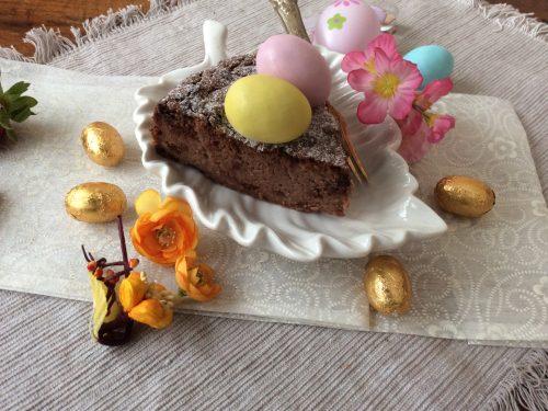 Dolce cremoso al cioccolato fondente