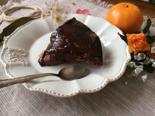 Torta mousse cioccolato e pere