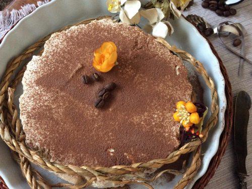 Torta cremosa al cappuccino (senza cottura)