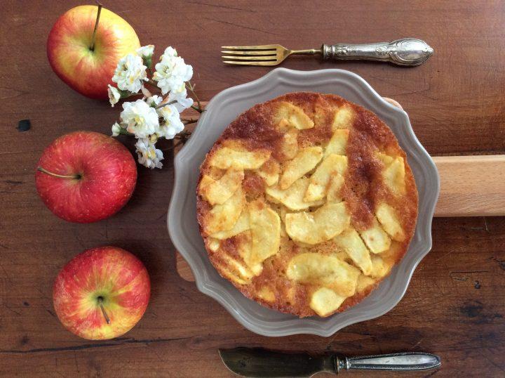 Torta millestrati di mela