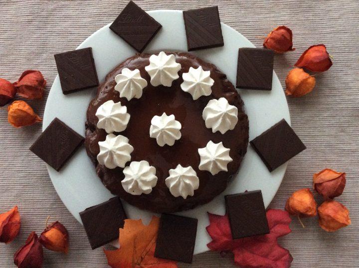 gateau chocolat con mascarpone