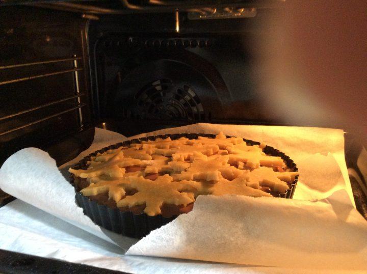 Crostata cotta nel forno