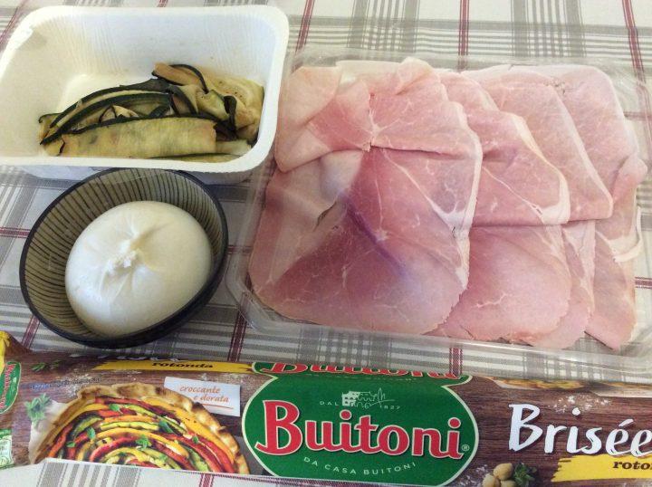 ingredienti per corona salata